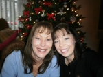 Sharon (Melson) Hodges and her sister, Christmas 2011.