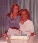 My 15th Birthday with my sweet 'Mama' in Ft. Lauderdale. (Aug. 13, 1974!)  Cindy Harris